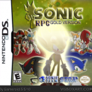 Sonic RPG Gold version Box Art Cover