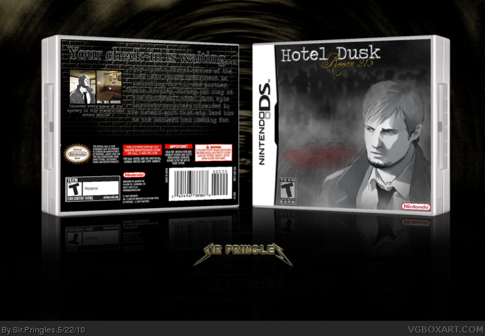 Nintendo DS » Hotel Dusk: Room 215 Box Cover