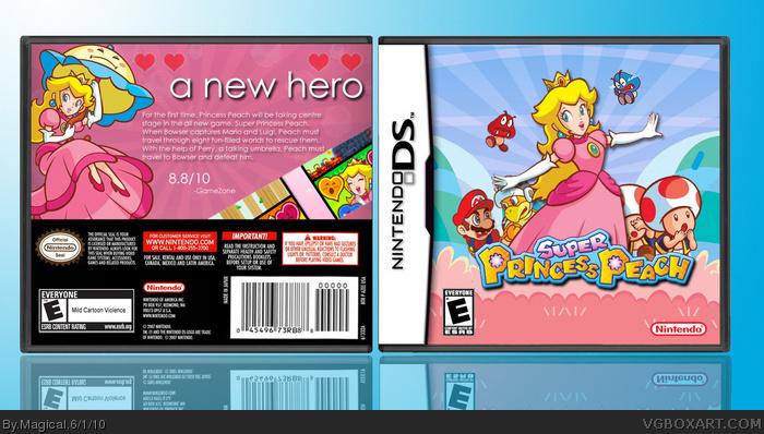 Nintendo DS » Super Princess Peach Box Cover