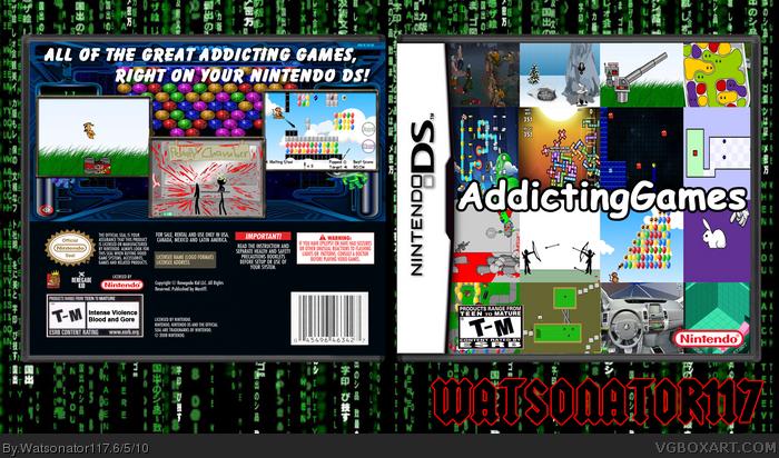 Addicting games addicting games box art cover