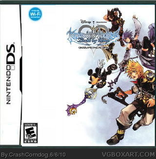 Nintendo DS » Kingdom Hearts: Birth By Sleep Box Cover