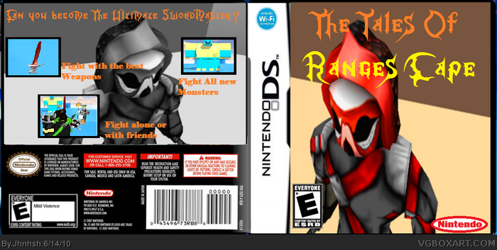 The Tales of Range's Cape box art cover