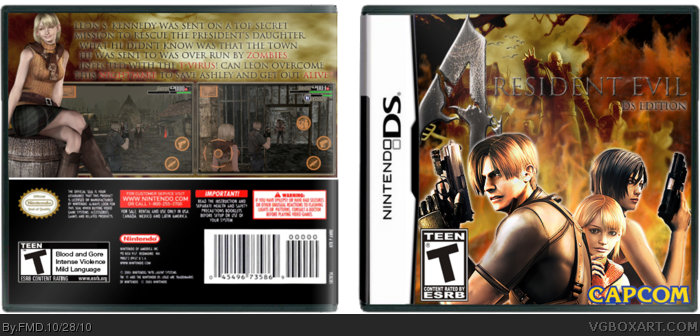 Resident evil 4 para ds descargar