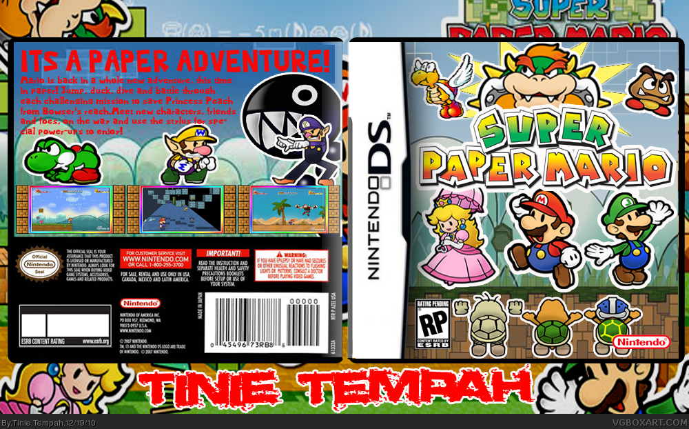 Mario & Luigi Paper Jam 3DS Game Paper Mario jumps out of a book and ...