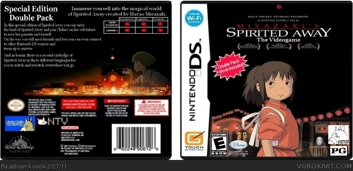 Spirited Away: Double Pack box art cover