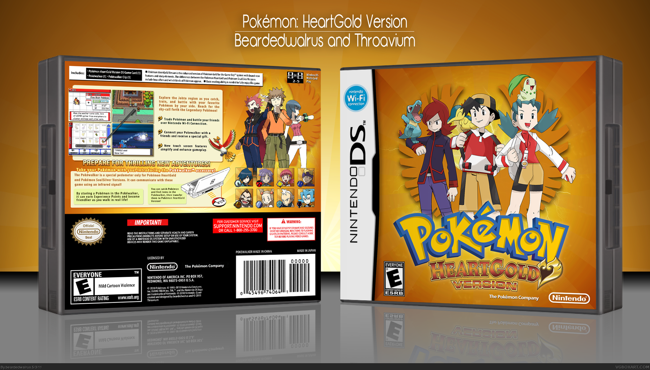 pokemon heartgold black screen