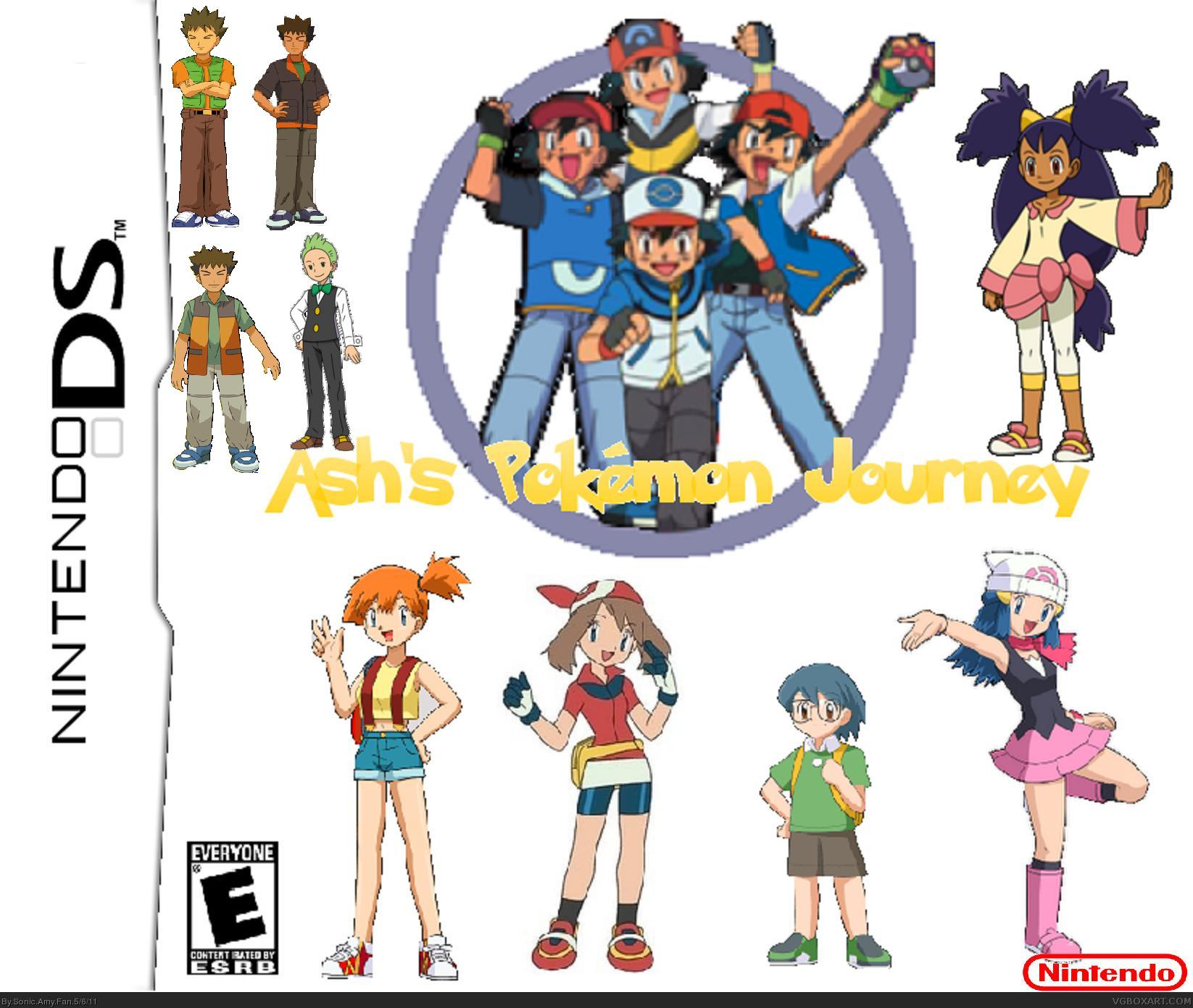 viewing full size ash ketchum u0027s pokemon journey box cover
