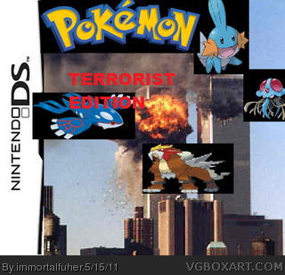 Pokemon: TERRORIST EDITION box cover