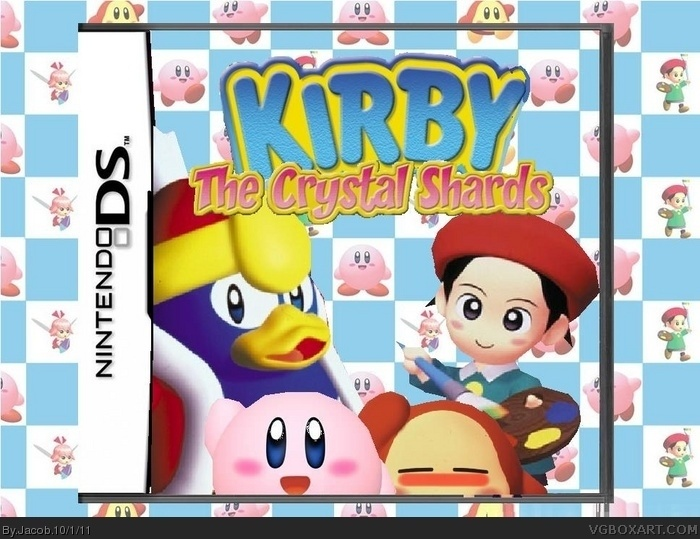 Kirby The Crystal Shards Ds Nintendo Ds Box Art Cover By