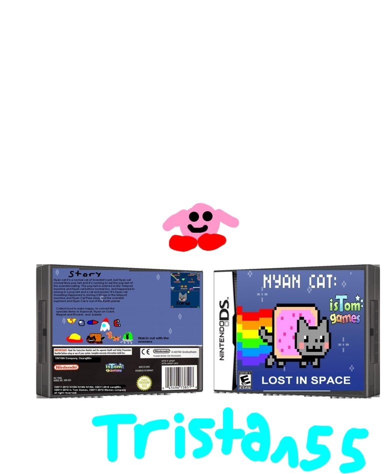 Nyan Cat Lost in Space box cover