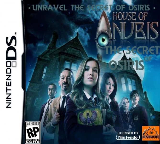House Of Anubis - The Secret Of Osiris box art cover