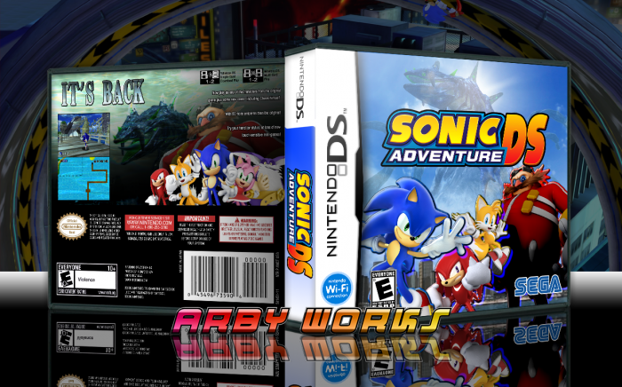 Sonic Adventure DS box art cover
