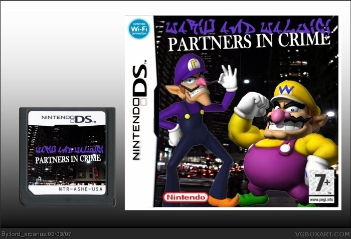 Wario and Waluigi: Partners in Crime box art cover