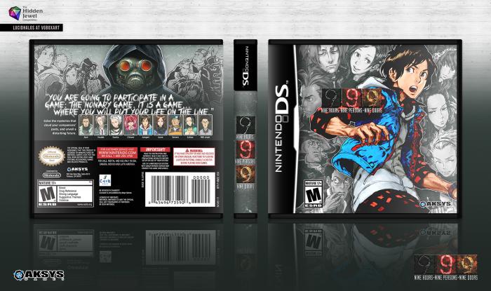 Nine Hours Nine Persons Nine Doors box art cover & Nine Hours Nine Persons Nine Doors Nintendo DS Box Art Cover by ...