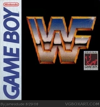 Wwf The Game Game Boy Box Art Cover By Jamesdude