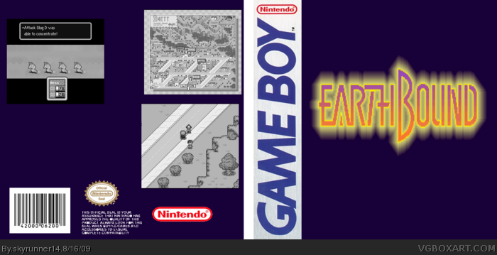 earthbound gb box art cover