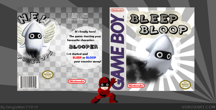 Bleep Bloop box art cover
