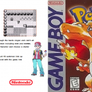 Pokemon:Red Gameboy Color Edition Box Art Cover