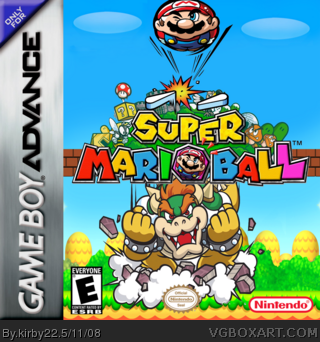 Super Marioball box art cover