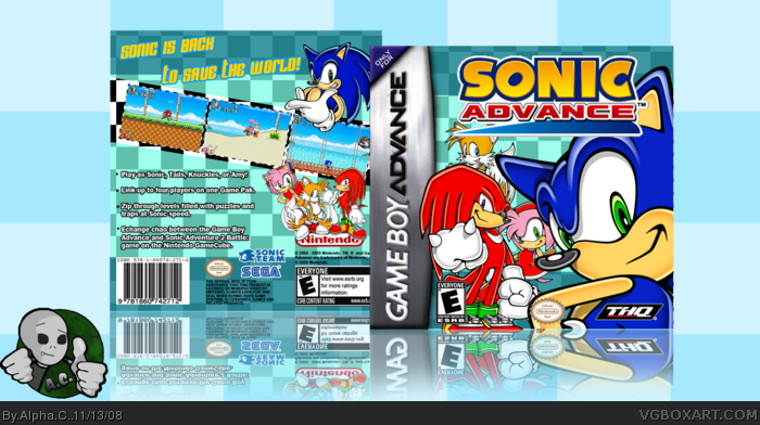 Sonic Advance - Advanced Processing | NeoGAF