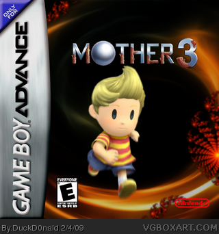 Mother 3 Game Boy Advance Box Art Cover by DuckD0nald