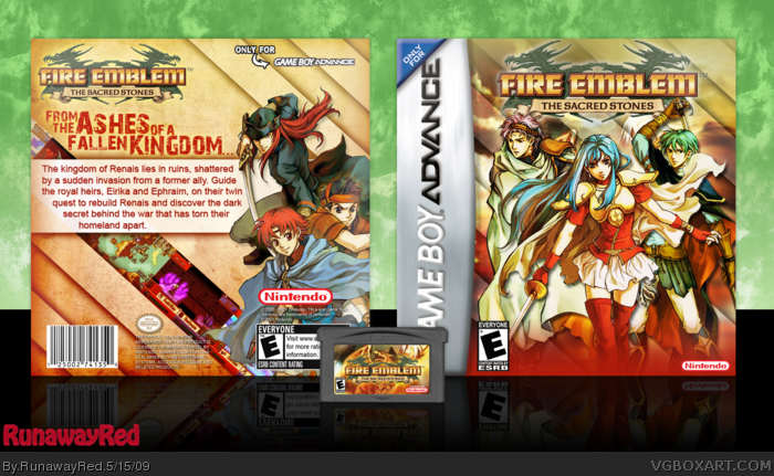 Fire Emblem: The Sacred Stones box art cover