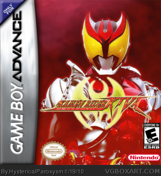 Kamen Rider Kiva box cover