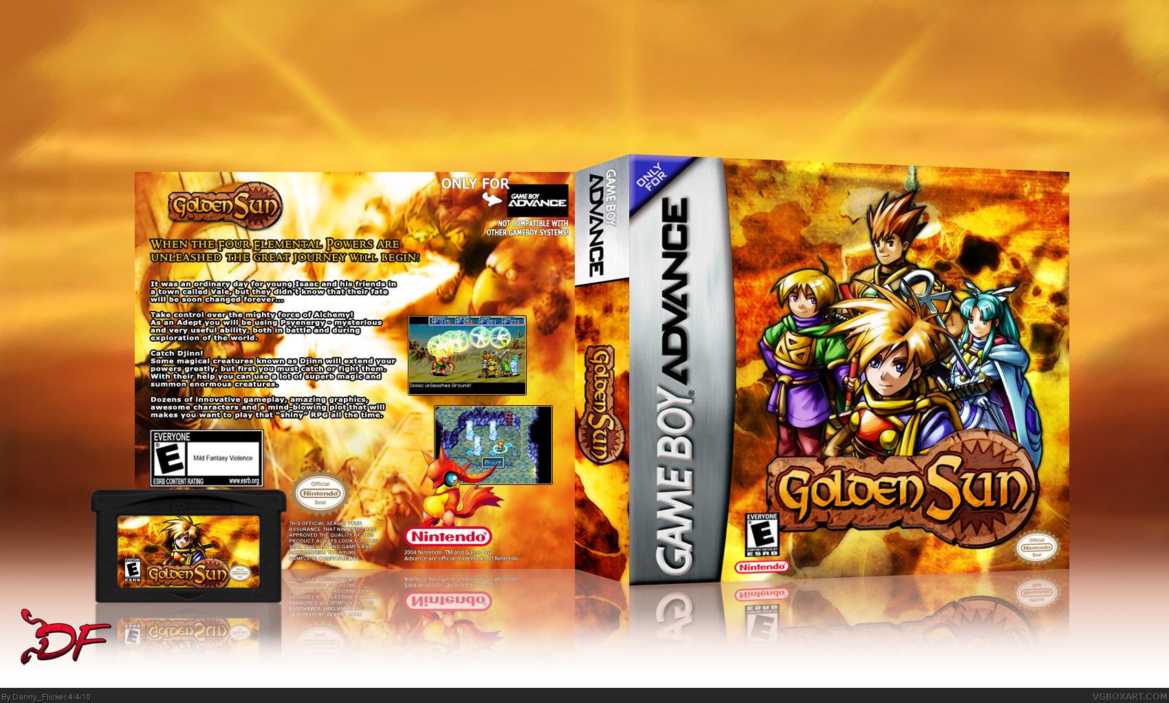 Golden Sun box cover