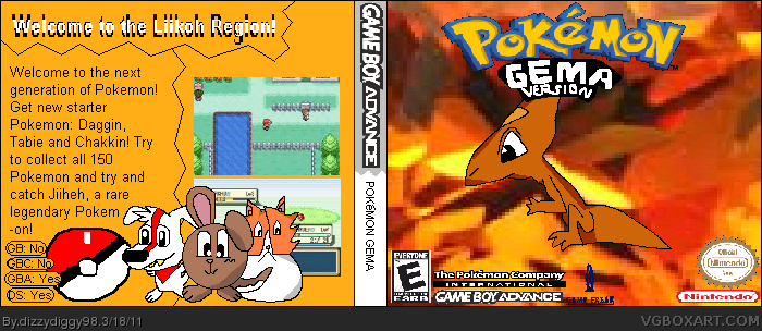 Pokemon Gema box cover