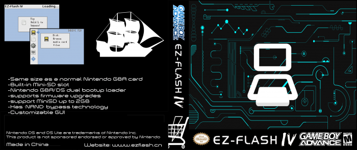 EZ-Flash IV box art cover