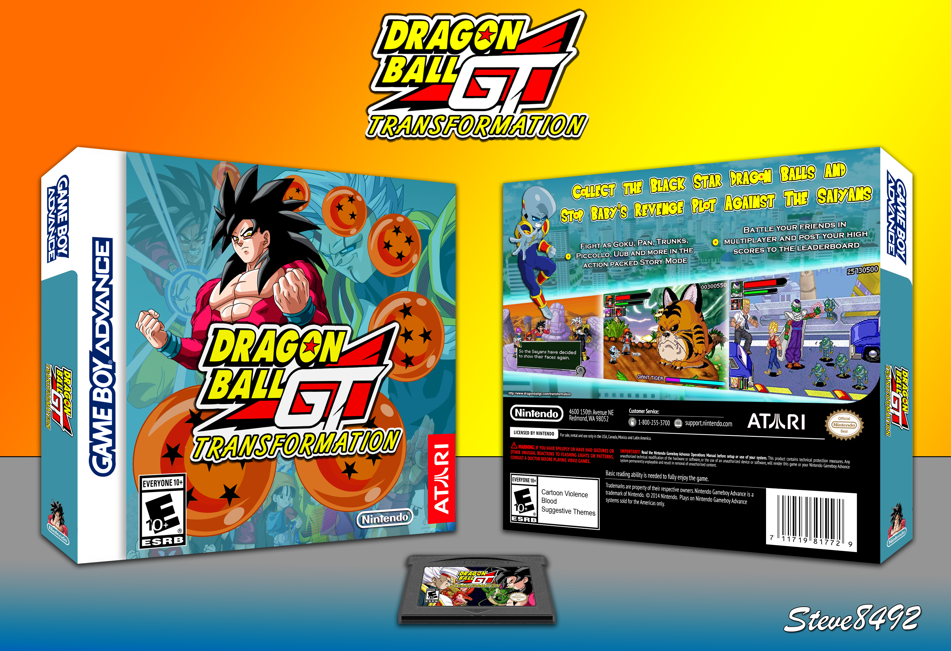 Dragonball GT: Transformation box cover