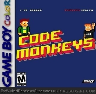 Code Monkeys box cover