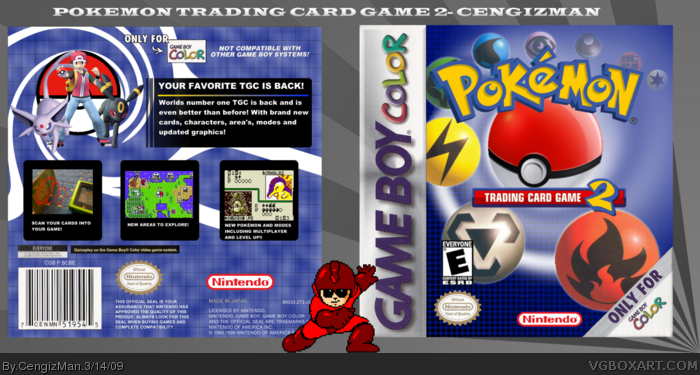Pokémon Traing Card Game 2 box art cover