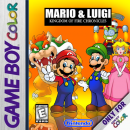 Mario & Luigi: Kingdom of Fire Chronicles Box Art Cover