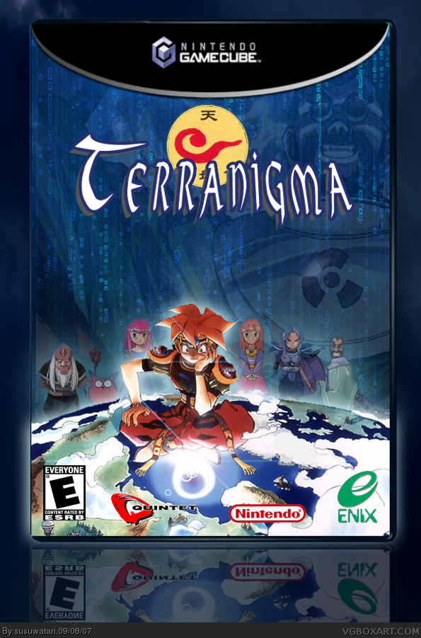 Terranigma Gamecube Box Art Cover By Susuwatari