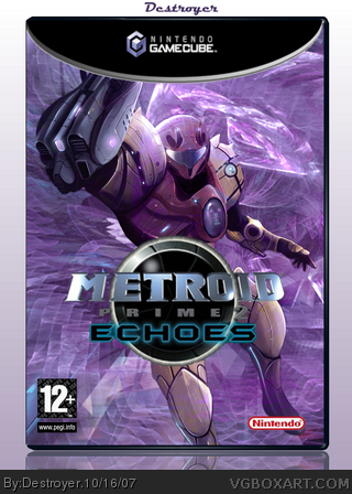 Metroid Prime 2: Echoes box cover