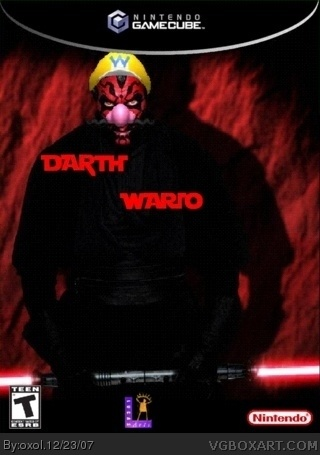 Darth Wario box art cover
