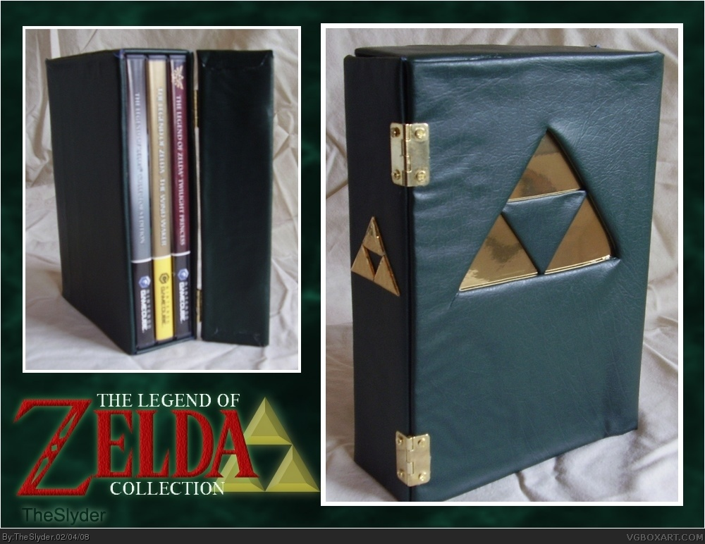 The Legend of Zelda Collection box cover