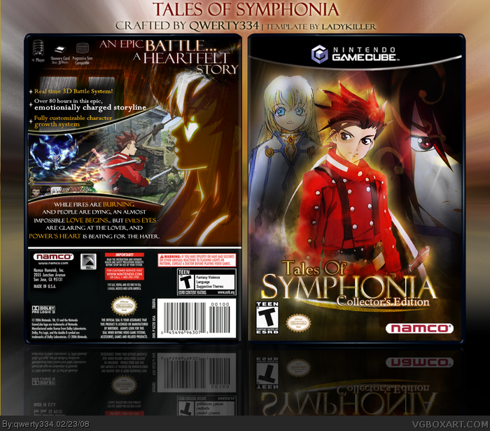 Tales of Symphonia: Collector's Edition box art cover