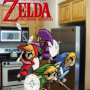The Legend of Zelda: Four Spoons Adventure Box Art Cover