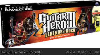 Guitar Hero 3 box cover