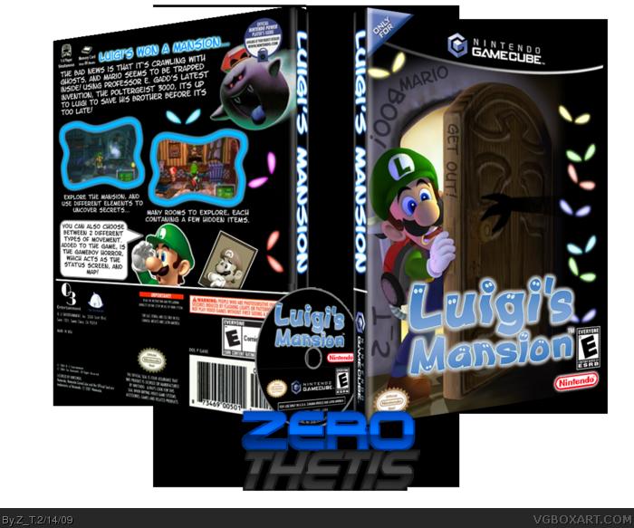 Luigi's Mansion Game Cube Covers
