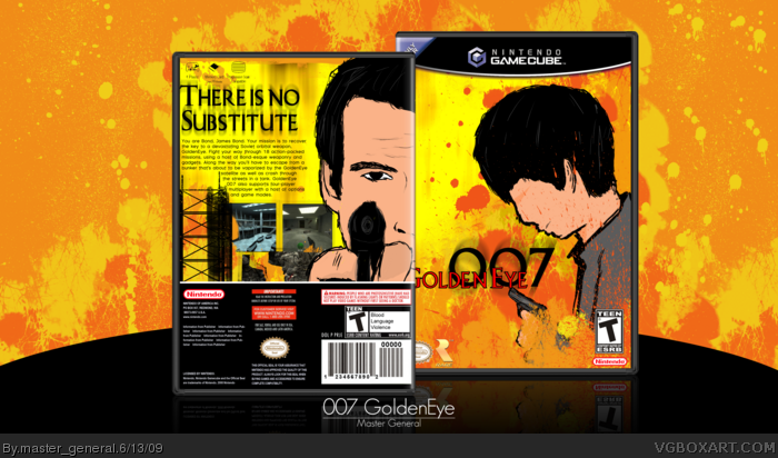 Gamecube Box Art 007 Goldeneye Box Art Cover