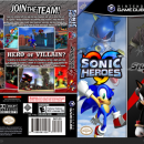 Sonic Heroes & Shadow the Hedgehog Box Art Cover