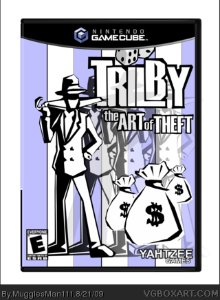 Genesis 38 8 >> Trilby & The Art Of Theft GameCube Box Art Cover by MugglesMan111