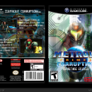 Metroid Prime 3: Corruption GCN Box Art Cover