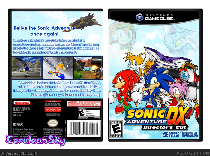 Sonic Adventure DX Directors Cut  Sonic News Network