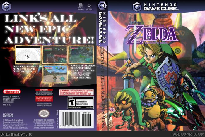 The Legend Of Zelda Majoras Mask For Gamecube 4