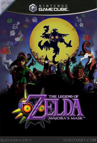 The Legend Of Zelda Majoras Mask For Gamecube 22