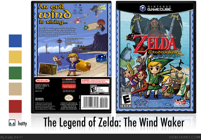 GameCube » The Legend of Zelda: The Wind Waker Box Cover